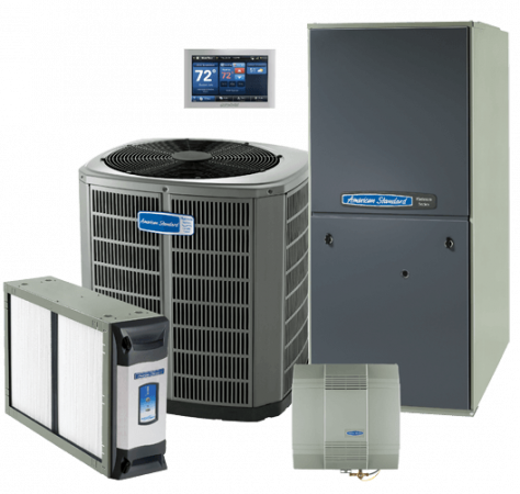 Heating AC units repair services