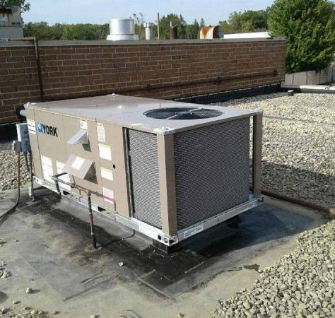 New commercial rooftop unit