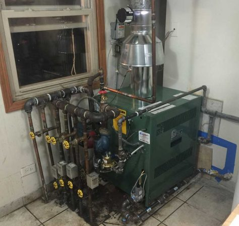 Residential boiler replacement