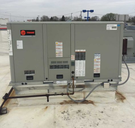 Trane replacement roof top unit